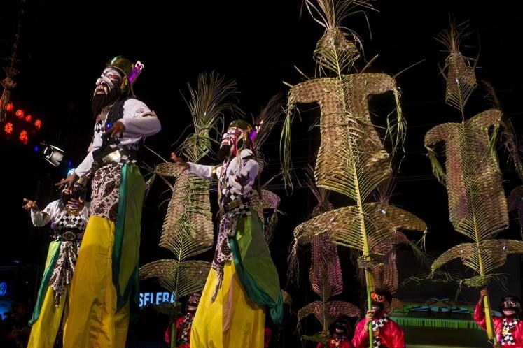 JOGJA CARNIVAL: 'Wayang orang' spices up city's 262nd anniversary celebration...