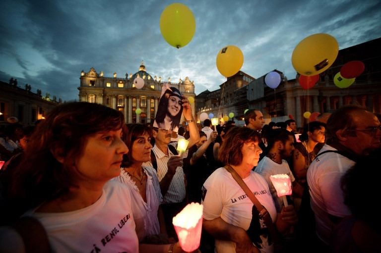 Missing girl's family demands Vatican truth on bones World