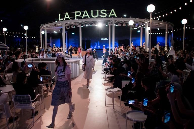 Chanel presents 'Cruise' replica along Bangkok's river
