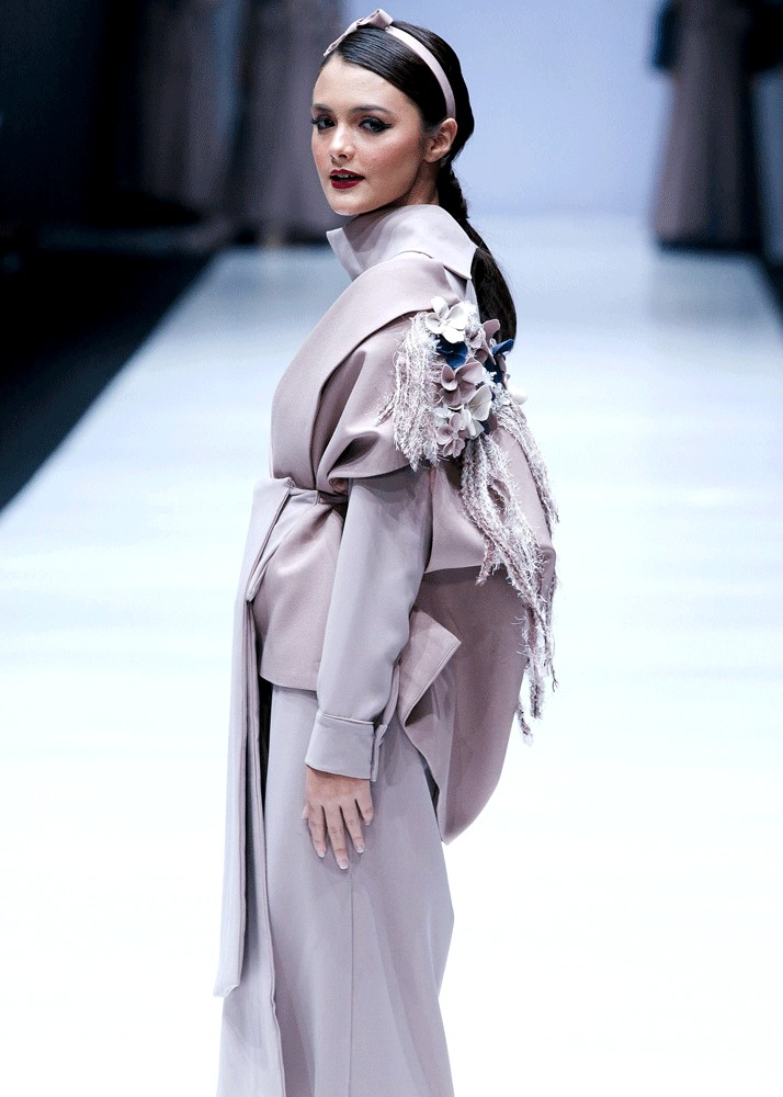In bloom: ETU's inspiration comes from the city of Tokyo.
