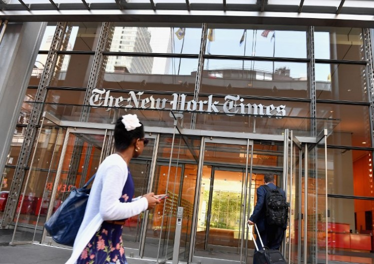 Advertising woes hit NY Times, as digital subscriptions grow