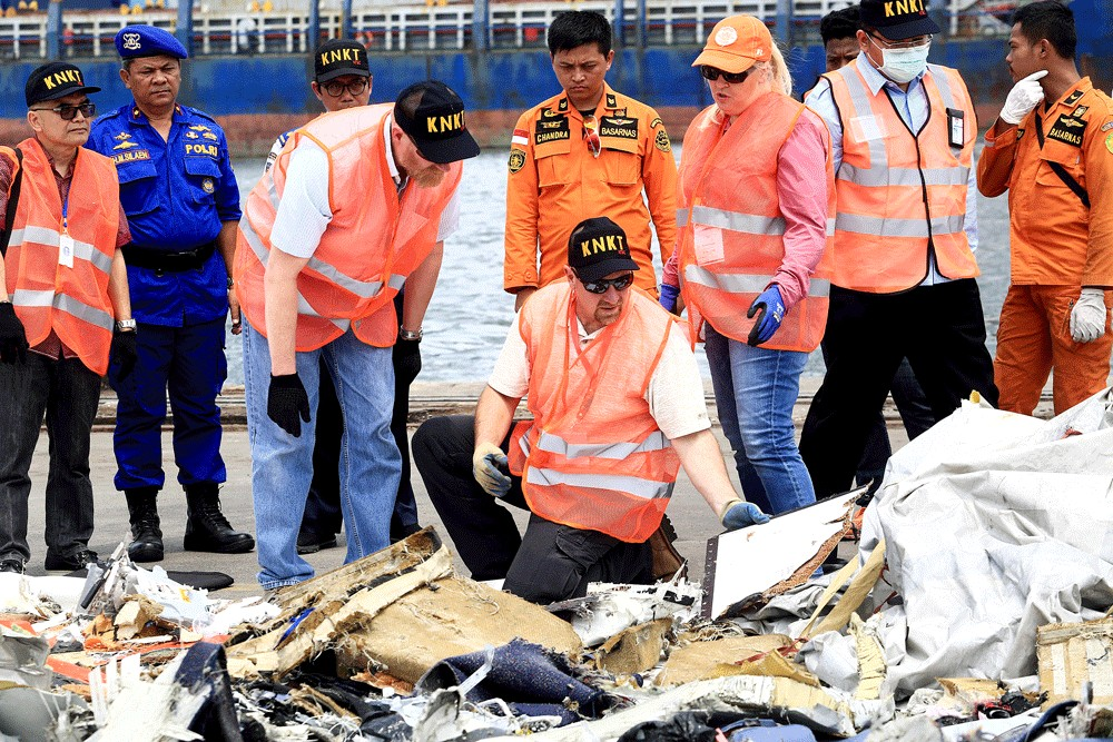 Indonesia's deadliest air crashes in recent years