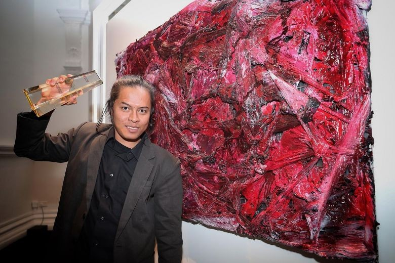 Indonesian wins UOB regional art contest