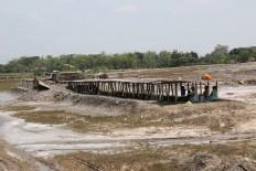 Siem's salt farm is the only one left in the village. JP/Maksum Nur Fauzan