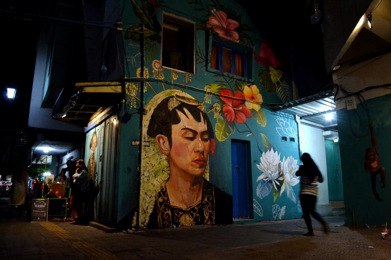 Murals become urban gallery on Surakartas Jl. Gatot Subroto  Art  Culture  The Jakarta Post