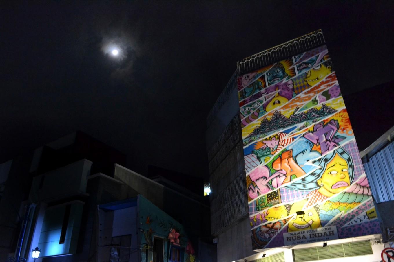 A corner of Jl. Gatot Subroto in Surakarta.