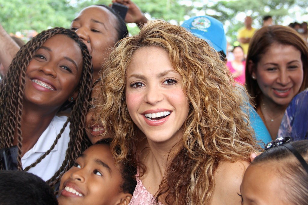 Colombia must invest in education to have peace, singer Shakira says