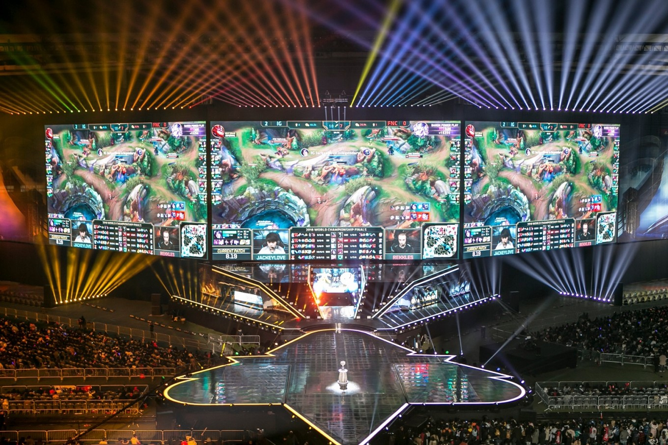 Inside the 'World Cup of e-sports'