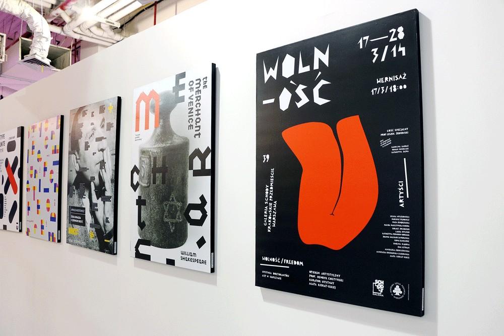 Artist shows her take on poster design