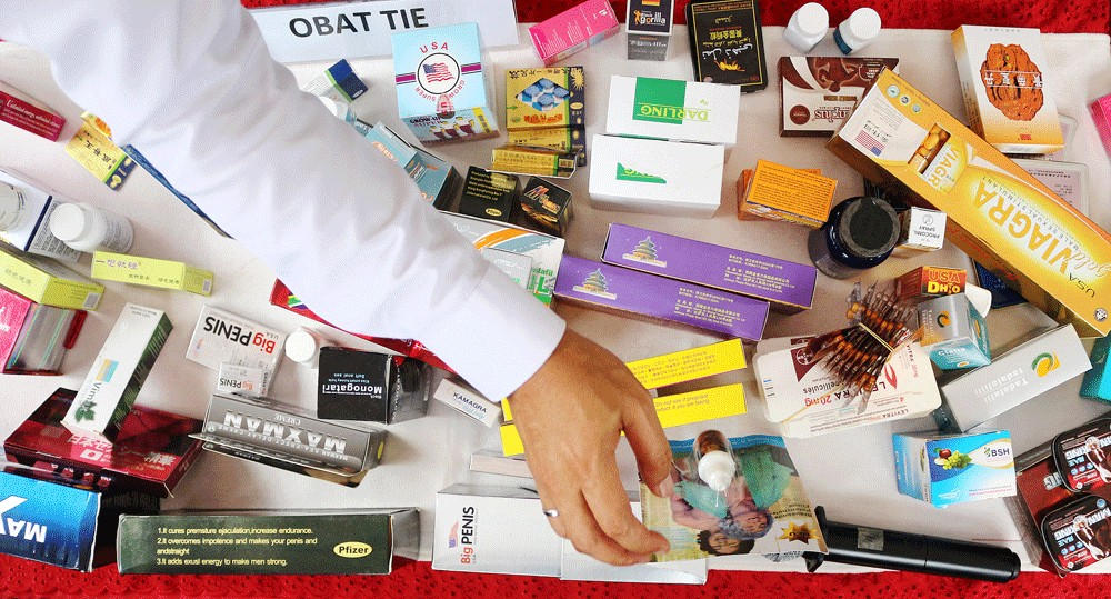 BPOM seizes sex aids, other items worth Rp 17 billion