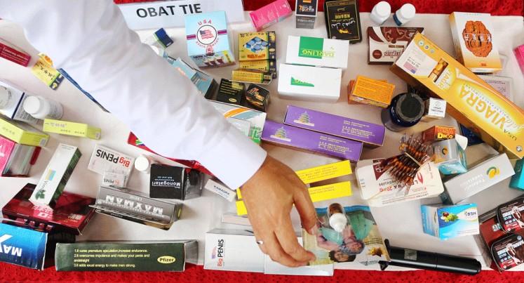 Illicit pills found in West Jakarta apartment
