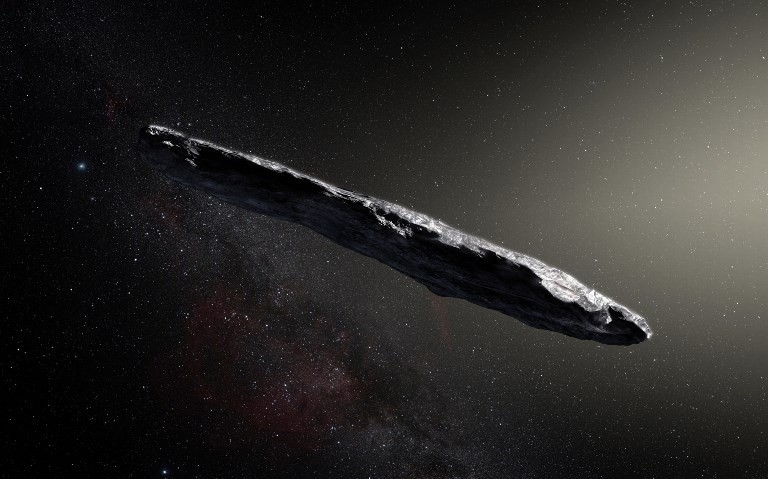 Harvard astronomer argues alien vessel paid us a visit in 2017