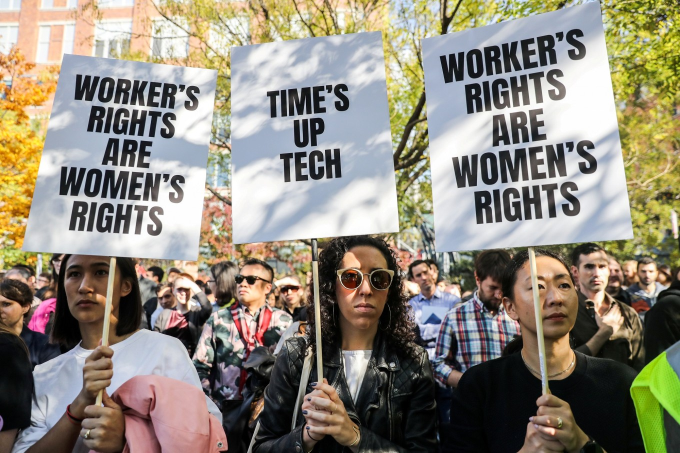 Women in tech call on global summit for greater roles as #MeToo hits