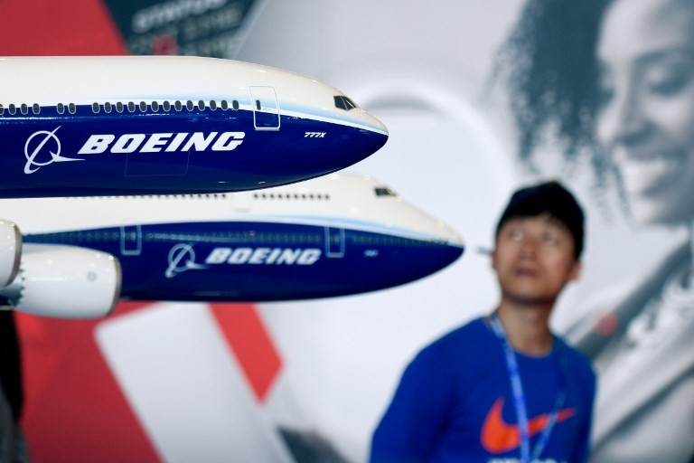 Boeing braces for trade war headwinds in China