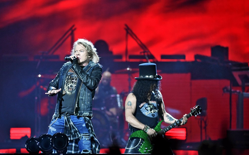 Guns N' Roses changed hearts worth waiting for