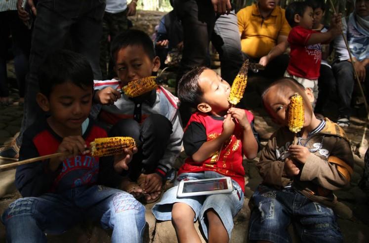 Traditional snacks main attraction at Papringan Market