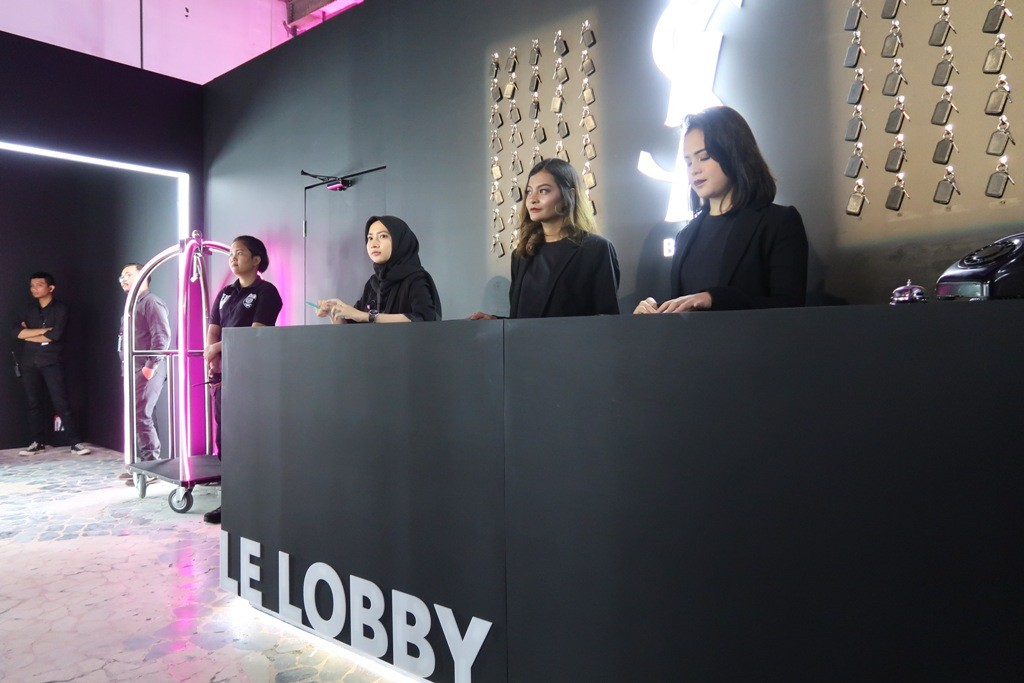 YSL Beauty Hotel welcomes Jakarta's makeup enthusiasts