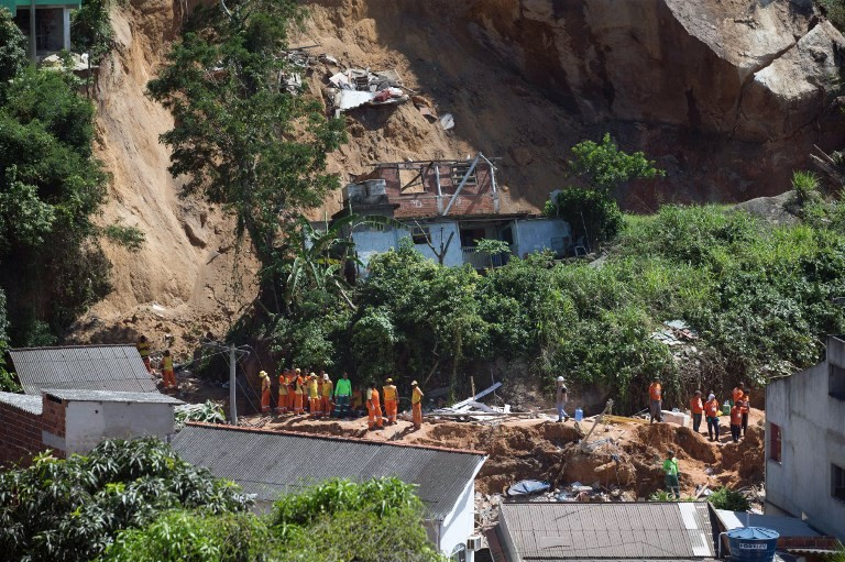 Rio de Janeiro landslide kills 14