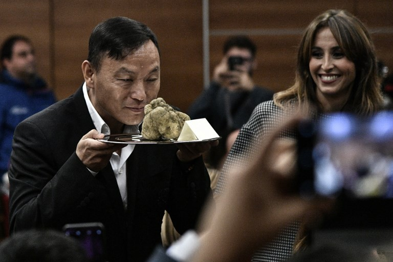 'Exceptional' white truffle sold for 85,000 euros