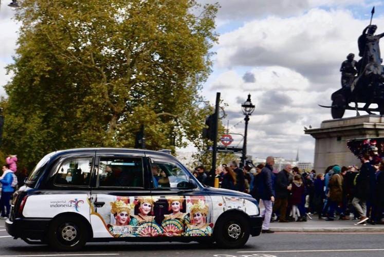 Kementerian Pariwisata menyatakan bahwa iklan tersebut ditampilkan pada 350 taksi dan 15 bus. (Kementerian Pariwisata di Facebook