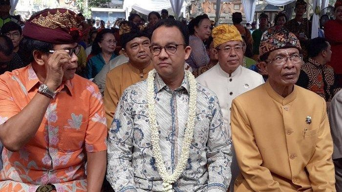 Anies extends overseas business trip by one day