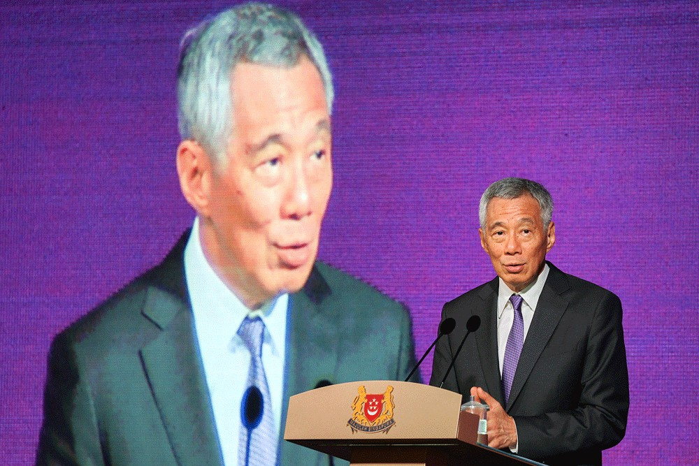 Singapore PM hopes businesses stay in Hong Kong