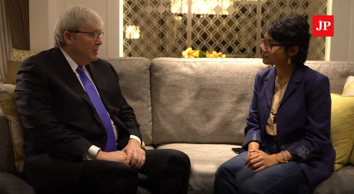 Five minutes with a diplomat: Kevin Rudd