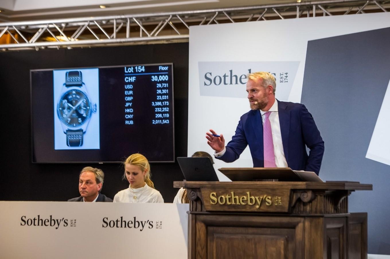 IWC auctions Big Pilot's watch, inspired by Antoine de Saint-Exupéry