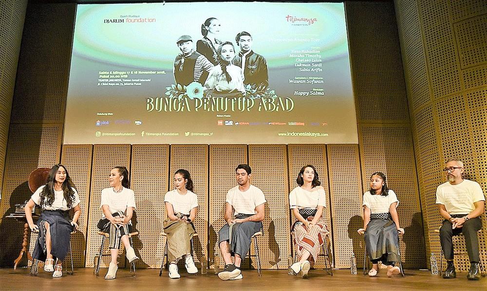 'Bunga Penutup Abad' reevaluates Pramoedya's legacy