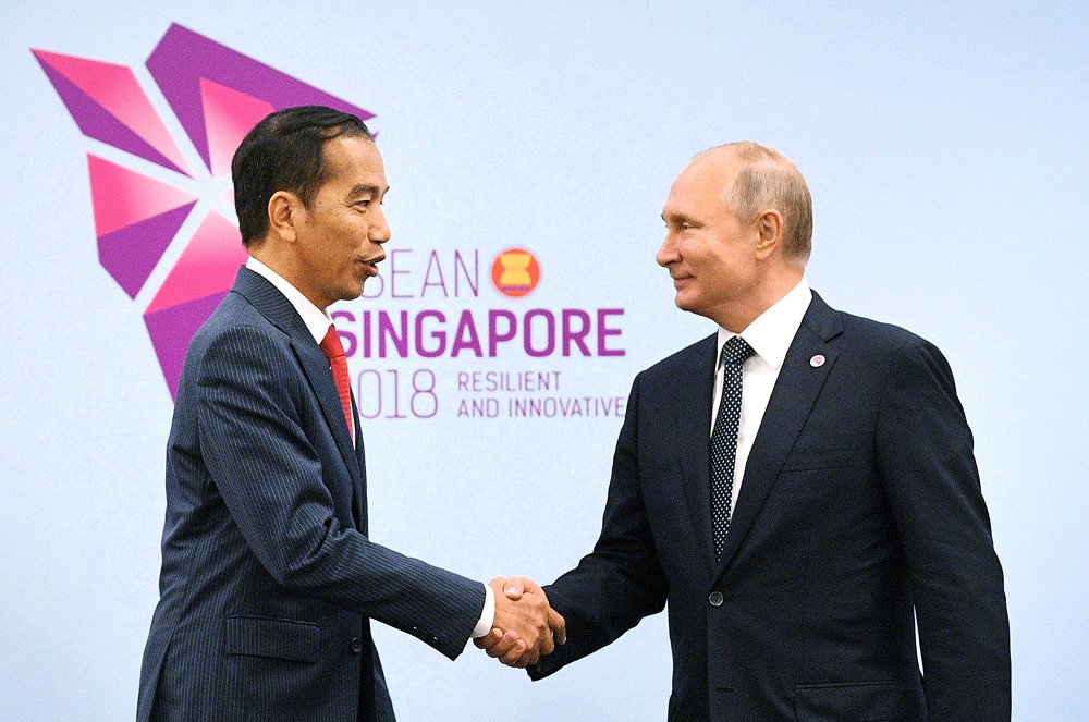 'Russian propaganda' nothing to do with Moscow, says Jokowi