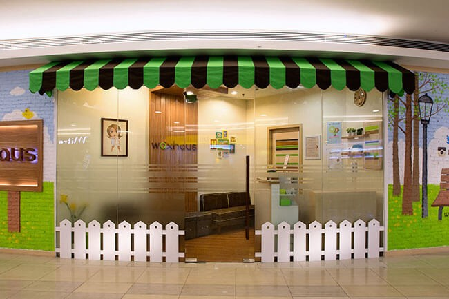 A Waxhaus branch can be found in the Kota Kasablanka shopping center.