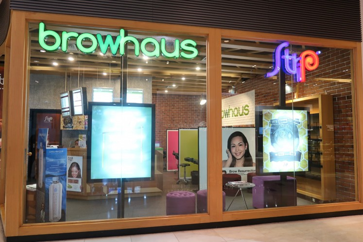 Browhaus and Strip have a joint branch in Grand Indonesia.