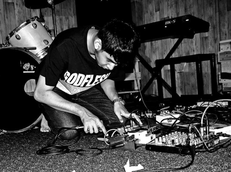 Rising talent: Jeritan, a Samarinda-based experimental noise project, has its four tracks featured on the Seratus Ribu Mix 6: Theo Nugraha digital compilation.