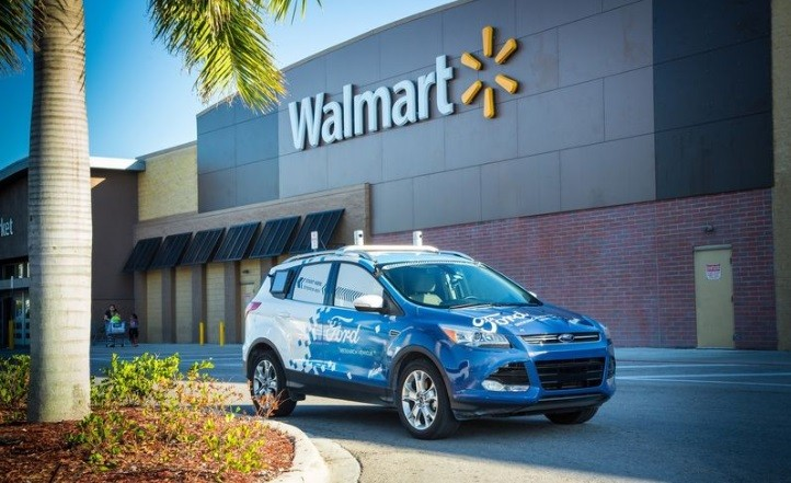 Ford, Walmart to team up on automated-vehicle delivery