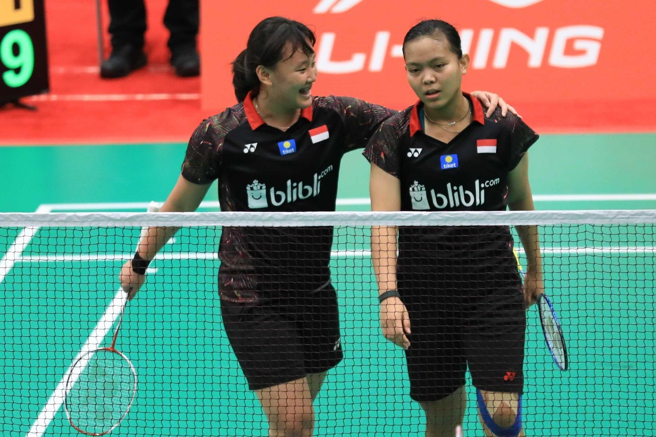 Indonesia's Agatha, Siti to face China's top pair in junior world championships