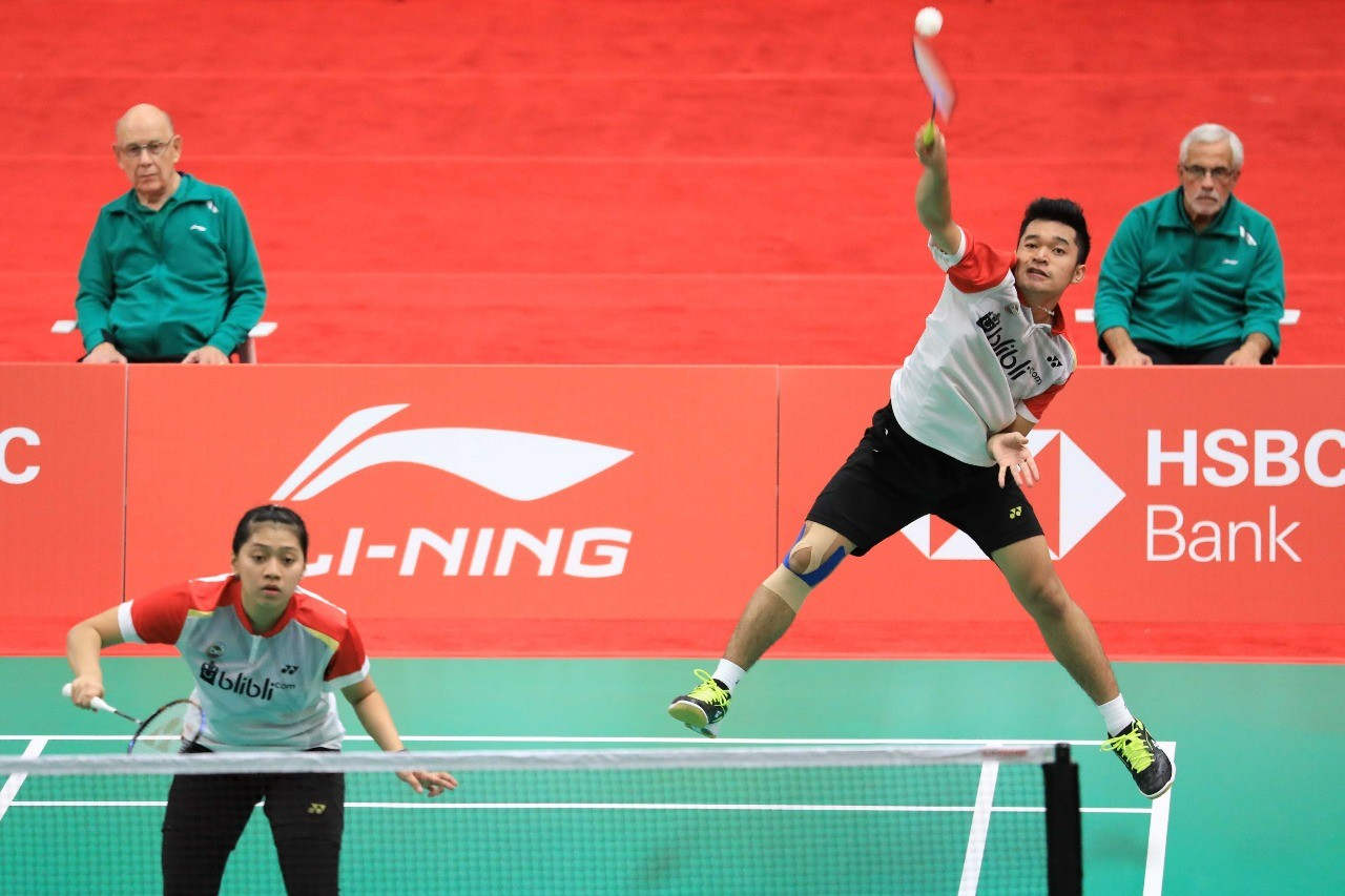 All-Indonesian mixed doubles final at BWF World Junior Championship