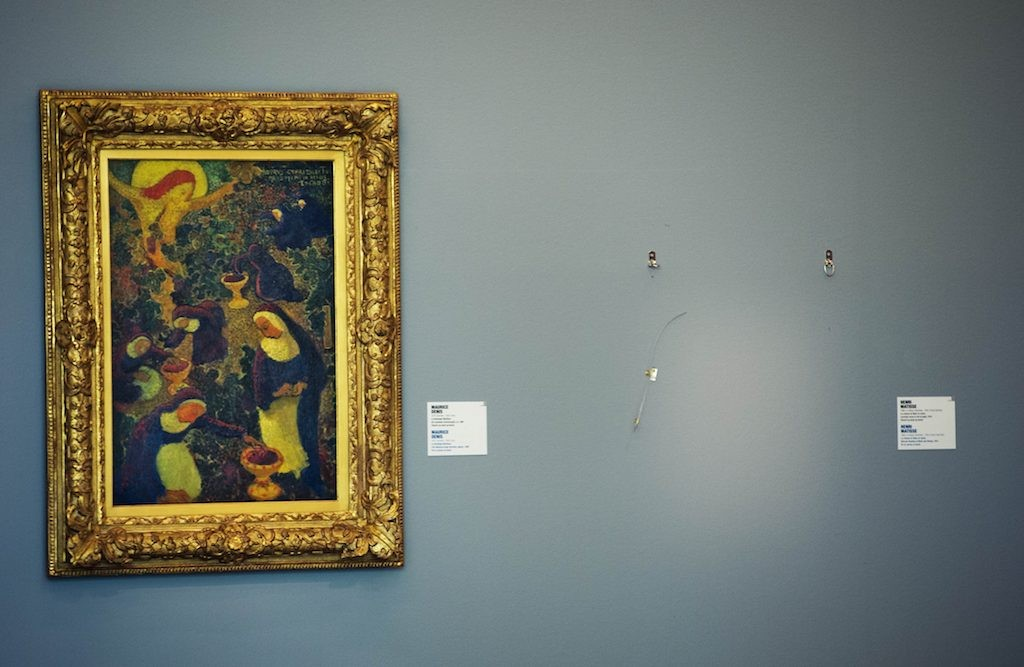 But is it art? Pranksters plant missing 'Picasso' in Romania