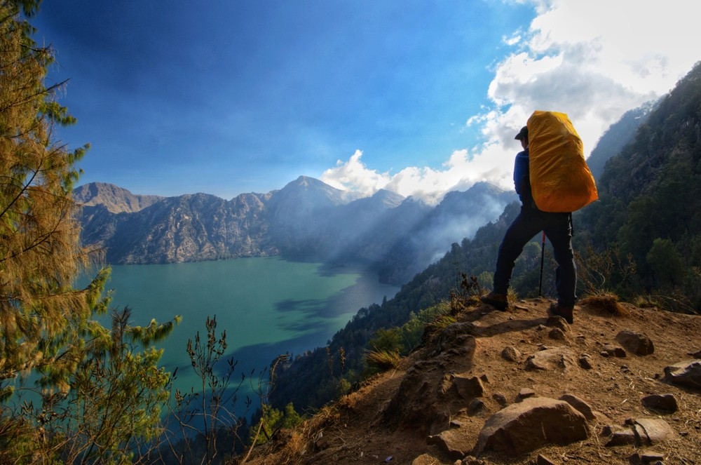 One Mount Rinjani trail reopened for hikers