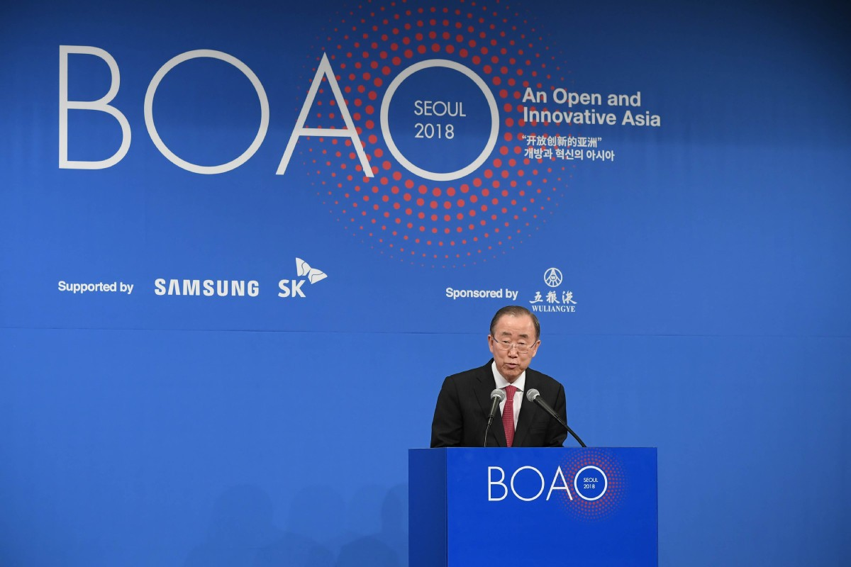 Ban Ki-moon: Globalization is now at risk
