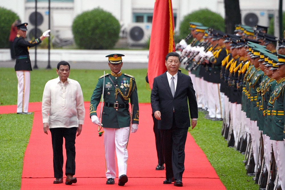 China can fish in Philippines' exclusive waters, Duterte says