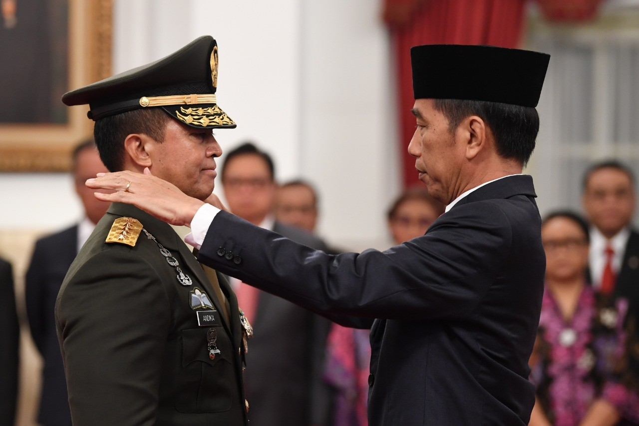 Jokowi picks Army chief as national COVID-19 committee's vice chairman