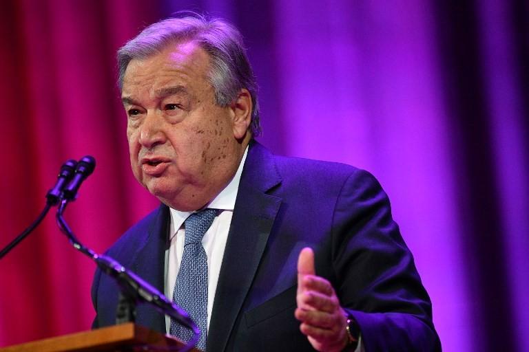 No room for climate delay, UN chief tells online summit