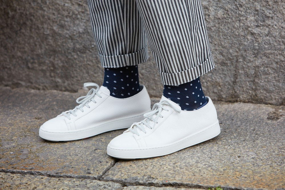 Why you should always wear socks with your shoes