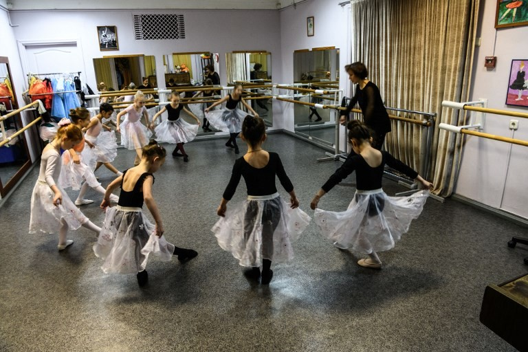 Moscow's ballet studios: Where careers take flight