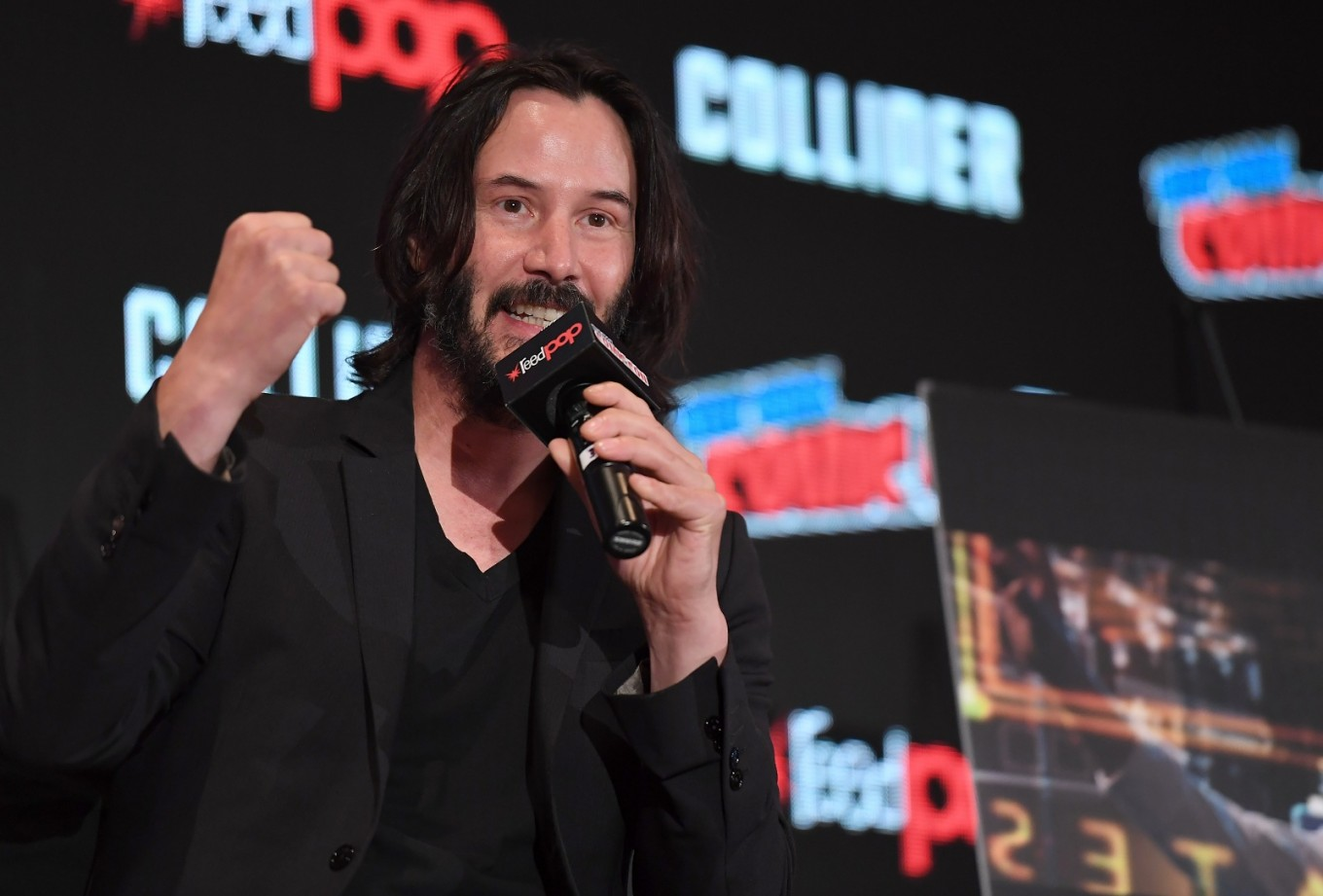 Keanu Reeves to voice a 'Toy Story 4' character