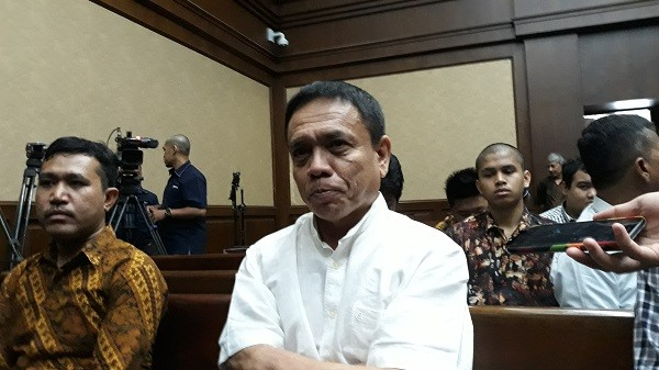 Suspended Aceh governor indicted in three graft cases