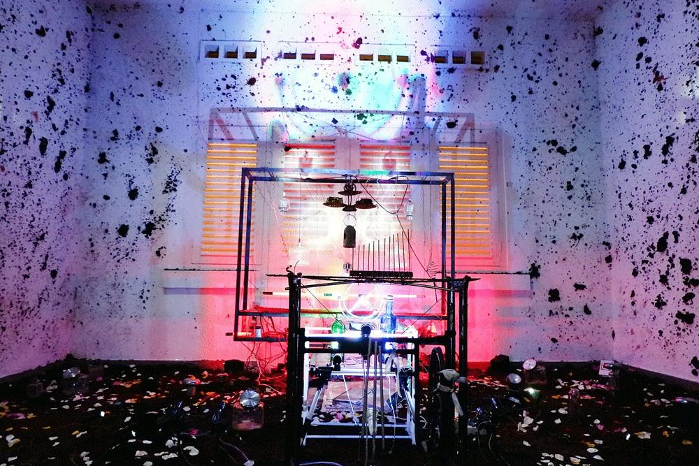 Instrumenta 2018: Sandbox a game universe in an art gallery