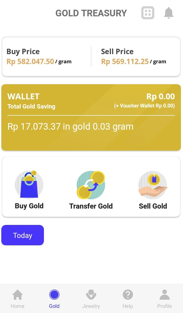 Treasury app provides new approach to investing in gold