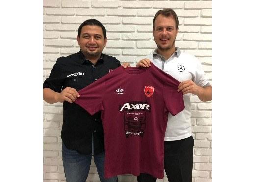 Mercedes-Benz backs Makassar soccer club