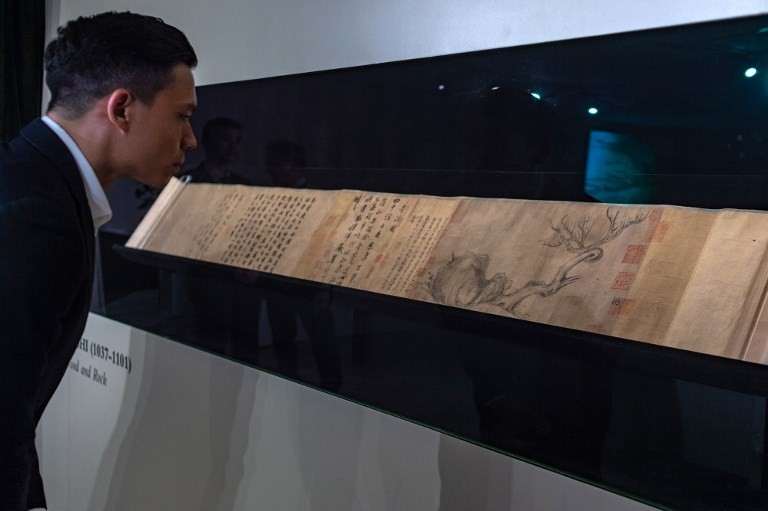 Ancient Chinese painting auctioned for almost $60 million